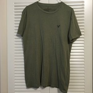 American Eagle Forest Green T-shirt Size Medium